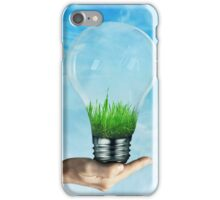 Save Green iPhone Case/Skin