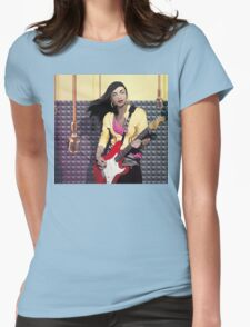 Sade, vector tribute Womens Fitted T-Shirt