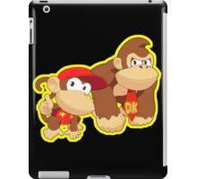 Super Smash Bros. Donkey Kong and Diddy Kong! iPad Case/Skin