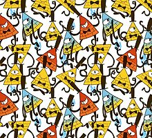 Bill Cipher pattern - colours by noxira