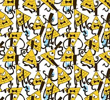 Bill Cipher pattern - plain by noxira