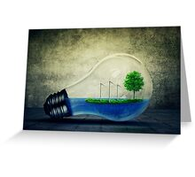 Eco Energy Greeting Card