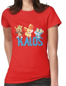 Kalos Region Starters Womens Fitted T-Shirt