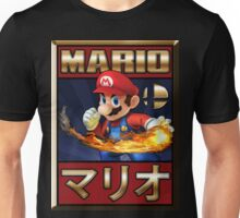 Mario - Super Smash Bros Unisex T-Shirt