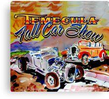 Temecula Car Show Canvas Print
