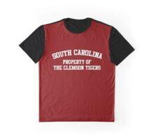Clemson - South Carolina Rivalry Graphic T-Shirt