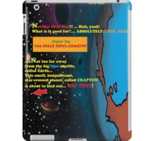 Bird of Steel Comix - Page #1 of 8 (Red Bubble POP-ART COLLECTION SERIES) iPad Case/Skin