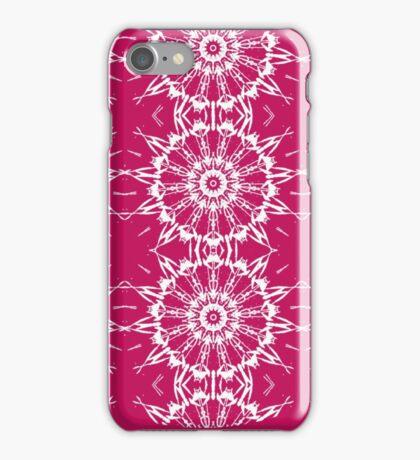 Snow White Snow Pink iPhone Case/Skin