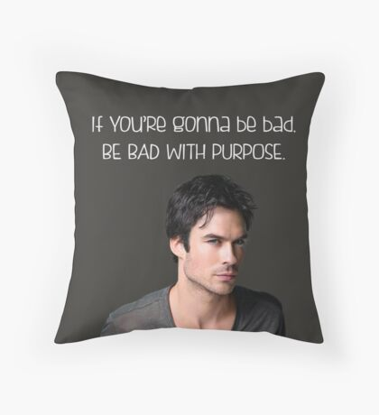 Purpose. Throw Pillow