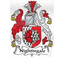 Nightingale Coat of Arms (English) Poster