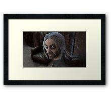 Victor Frankenstein Framed Print