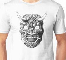 Japanese Demon Mask v2 Unisex T-Shirt
