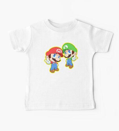 Super Smash Bros. Mario and Luigi! Baby Tee
