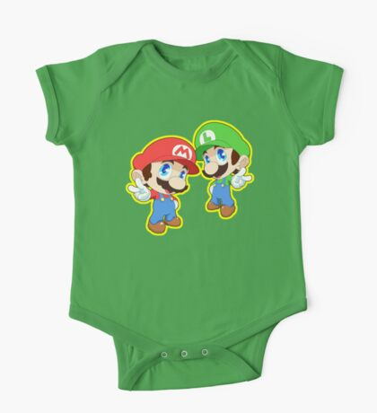 Super Smash Bros. Mario and Luigi! One Piece - Short Sleeve