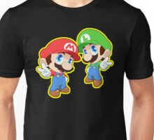 Super Smash Bros. Mario and Luigi! Unisex T-Shirt