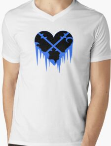 Cold and Heartless Mens V-Neck T-Shirt