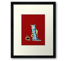 Monster Treat Framed Print