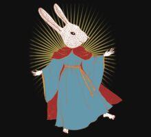 Saint Bunny has your back Kids Clothes
