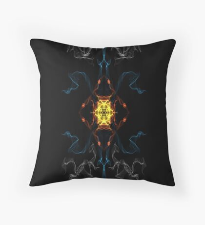 Silken 3 Throw Pillow