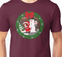 Christmas Chibitalia and Holy Rome Unisex T-Shirt