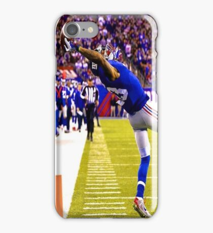 Odell beckham Jr. Catch iPhone Case/Skin