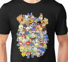 Super Smash Bros. All 58 Characters! Group Unisex T-Shirt