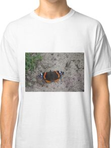Red Admiral Butterfly Classic T-Shirt