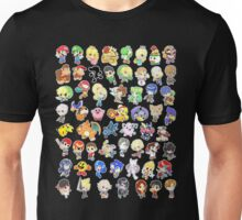 Super Smash Bros. All 58 Characters!  Unisex T-Shirt