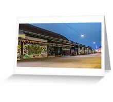 Naschmarkt bei Nacht Greeting Card