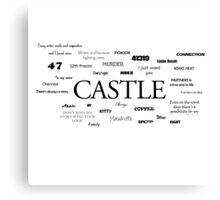 Castle world Canvas Print