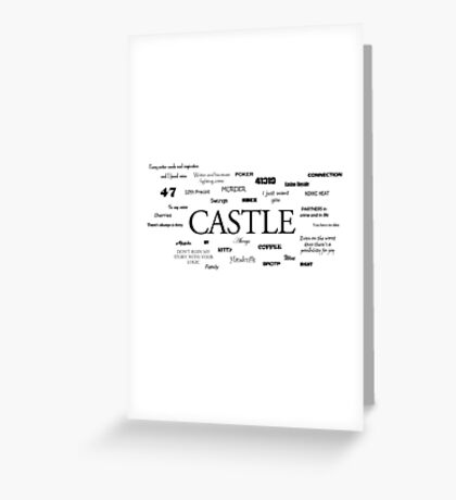 Castle world Greeting Card