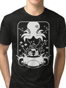 Christobelle Purrlumbus: Daring Deep Sea Dive Tri-blend T-Shirt