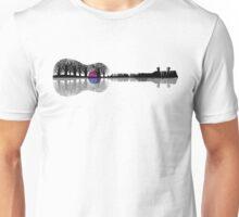 Großartige und wunderschöne Musiker Gitarren Ukulele Design Grafik Unisex T-Shirt