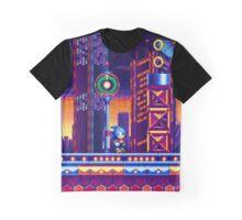 Sonic Mania Metropolis Zone Graphic T-Shirt