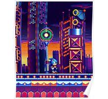 Sonic Mania Metropolis Zone Poster