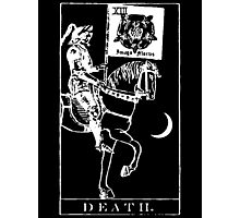 Death Tarot XIII Photographic Print