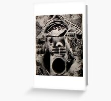 MONUMENT TO MYSTIFICATION Greeting Card