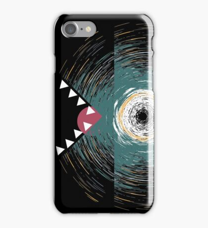 Abstract colored dragon dino reptile art iPhone Case/Skin