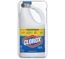 Clorox bleach iPhone Case/Skin