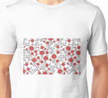 Hübsches Rosen Muster Unisex T-Shirt
