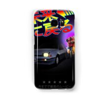 Nissan Exa Back to the Future (JAP) Samsung Galaxy Case/Skin