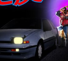 Nissan Exa Back to the Future (JAP) Sticker