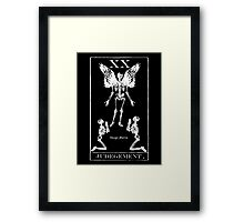 Judgement Tarot XX Framed Print