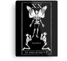 Judgement Tarot XX Metal Print