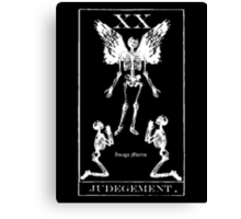 Judgement Tarot XX Canvas Print