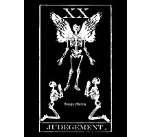 Judgement Tarot XX Photographic Print