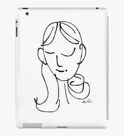 sem·i·co·lon girl iPad Case/Skin