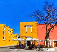 The Colorful Streets of Puebla Mexico by Mark Tisdale
