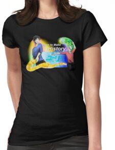 Victuuri - Yuri on Ice (neon) Womens Fitted T-Shirt