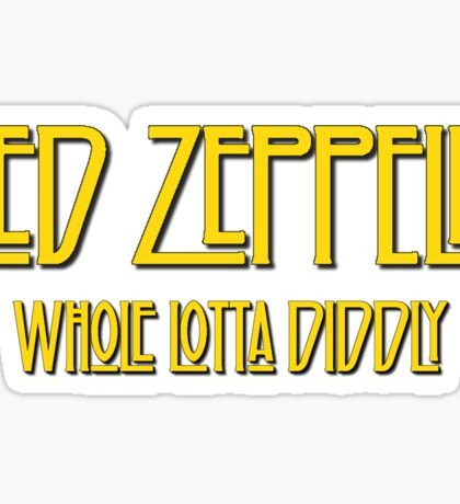 Ned Zeppelin - Whole Lotta Diddly (Simpsons) Sticker